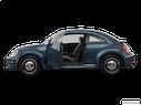 2018 Volkswagen Beetle Driver's side profile with drivers side door open