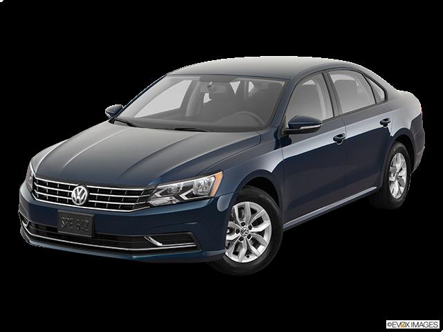 2018 Volkswagen Passat Front angle view