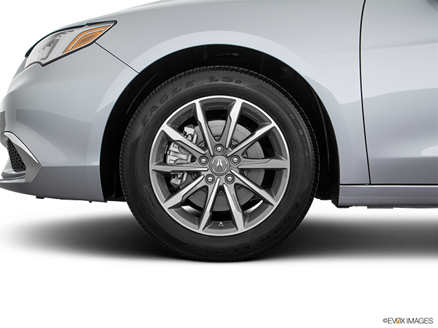 2019 Acura TLX Front Drivers side wheel at profile