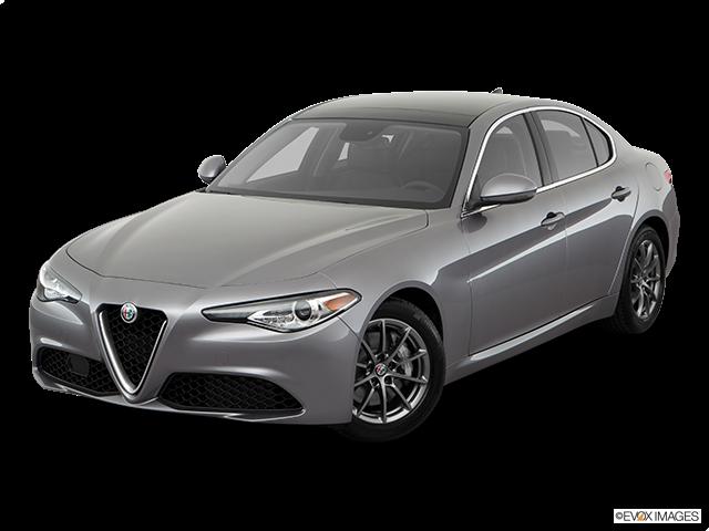 2019 Alfa Romeo Giulia Front angle view