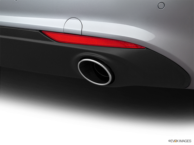 2019 Alfa Romeo Giulia Chrome tip exhaust pipe