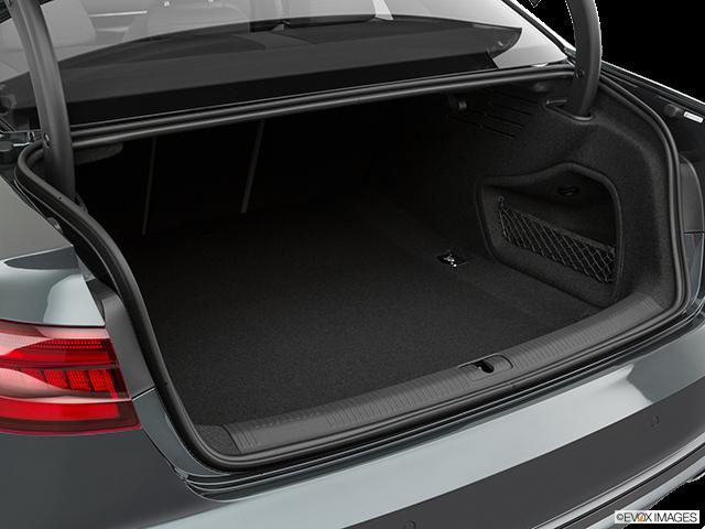 2019 Audi A4 Trunk open