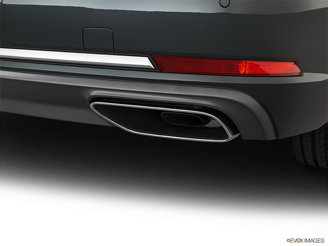 2019 Audi A4 Chrome tip exhaust pipe