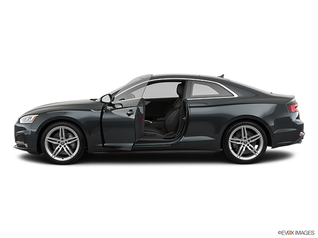 2019 Audi A5 Driver's side profile with drivers side door open