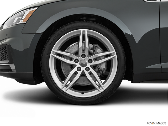 2019 Audi A5 Front Drivers side wheel at profile