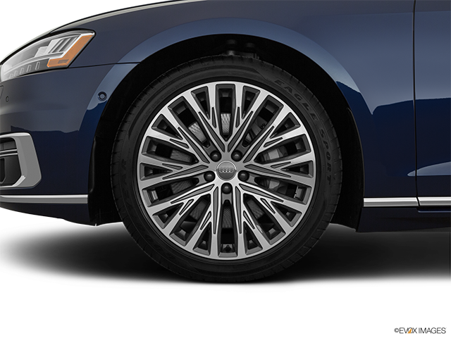 2019 Audi A8 L Front Drivers side wheel at profile