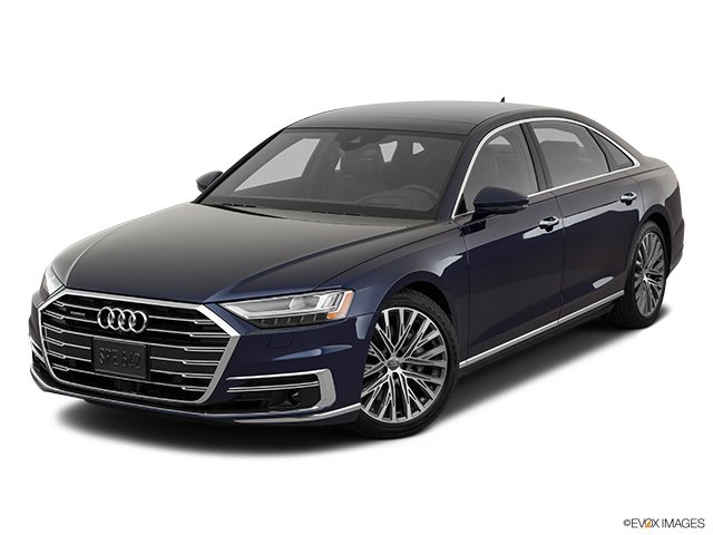 2019 Audi A8 L Front angle view