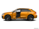 2019 Audi Q8 Driver's side profile with drivers side door open