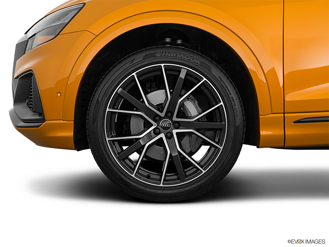 2019 Audi Q8 Front Drivers side wheel at profile