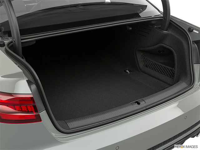 2019 Audi S4 Trunk open