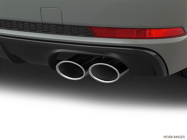 2019 Audi S4 Chrome tip exhaust pipe