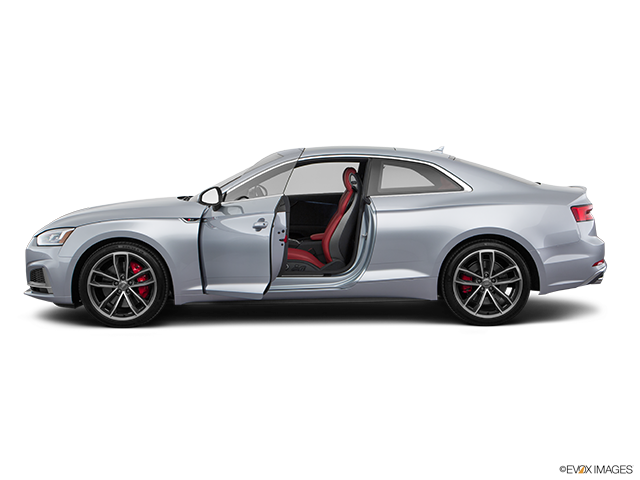 2019 Audi S5 Driver's side profile with drivers side door open