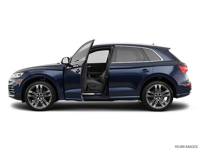 2019 Audi SQ5 Driver's side profile with drivers side door open