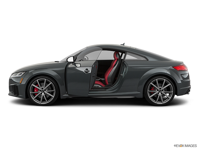 2019 Audi TTS Driver's side profile with drivers side door open
