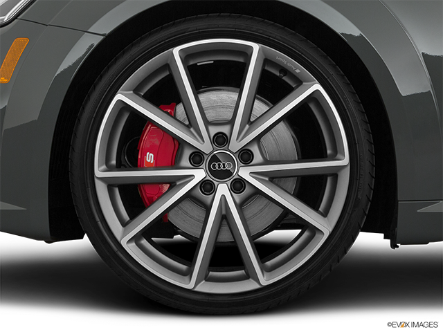2019 Audi TTS Front Drivers side wheel at profile