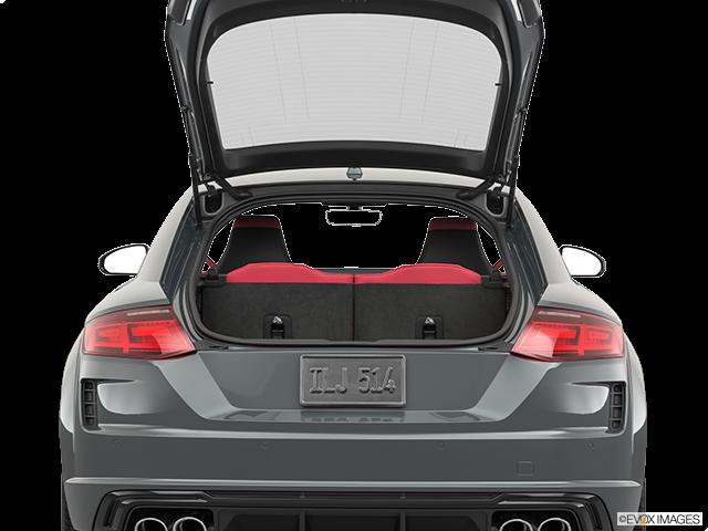 2019 Audi TTS Trunk open