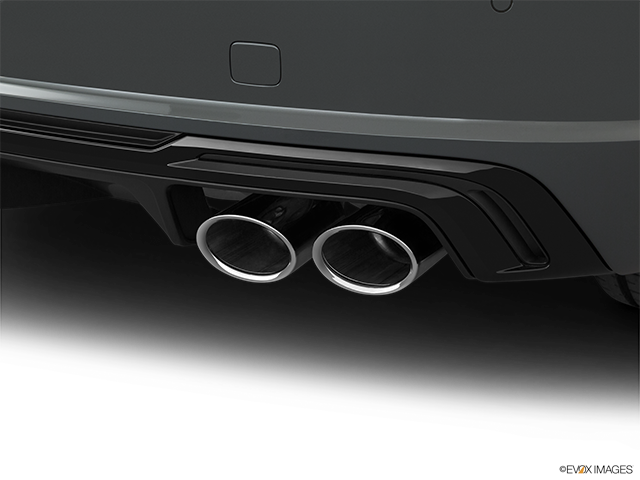 2019 Audi TTS Chrome tip exhaust pipe