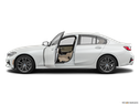 2019 BMW 3 Series Driver's side profile with drivers side door open