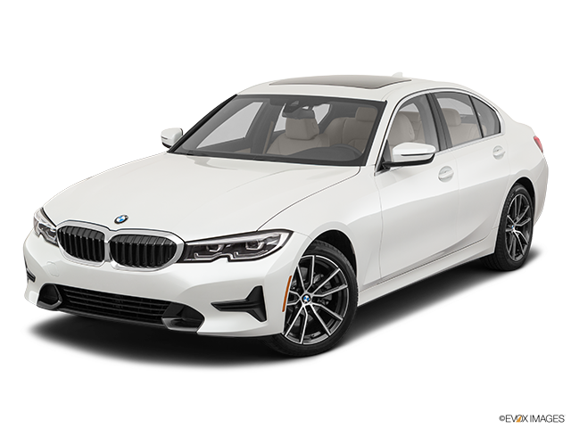 2019 BMW 3 Series Front angle view