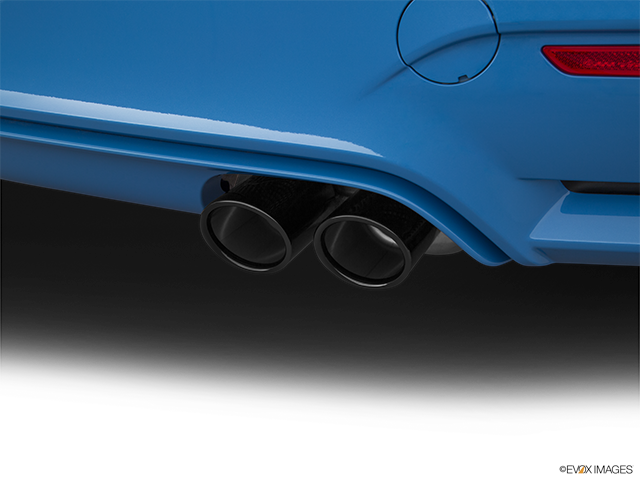 2019 BMW M4 Chrome tip exhaust pipe