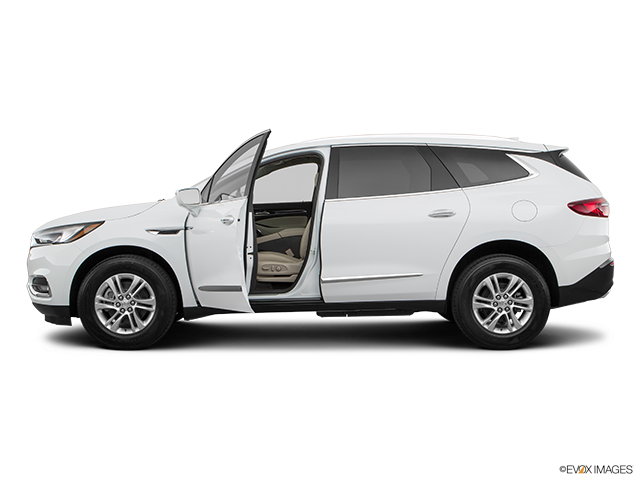 2019 Buick Enclave Driver's side profile with drivers side door open