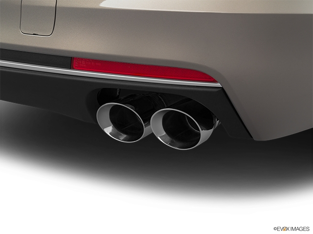 2019 Cadillac CT6 Chrome tip exhaust pipe