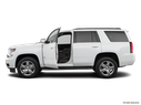 2019 Chevrolet Tahoe Driver's side profile with drivers side door open