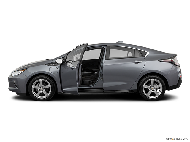 2019 Chevrolet Volt Driver's side profile with drivers side door open