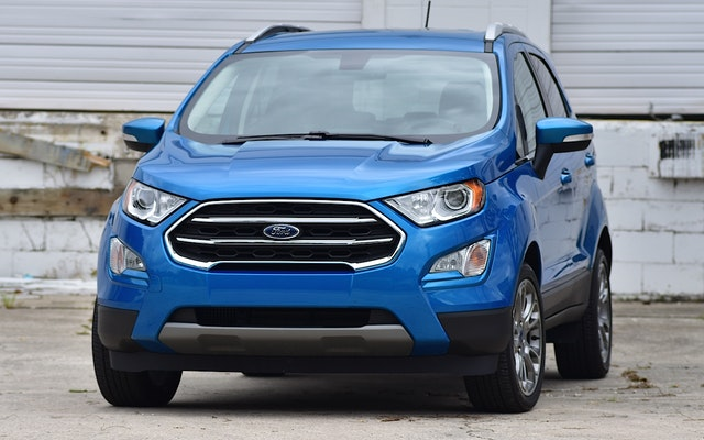 2019 Ford EcoSport Exterior