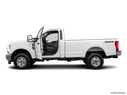 2019 Ford F-250 Super Duty Driver's side profile with drivers side door open