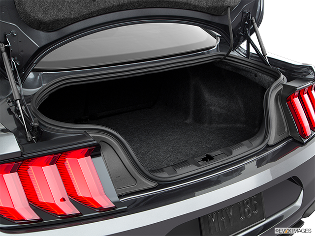 2019 Ford Mustang Trunk open