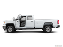 2019 GMC Sierra 2500HD Driver's side profile with drivers side door open
