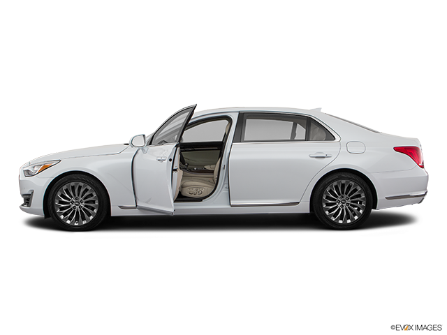 2019 Genesis G90 Driver's side profile with drivers side door open