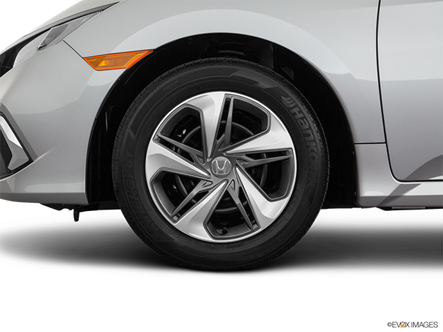 2019 Honda Civic Front Drivers side wheel at profile