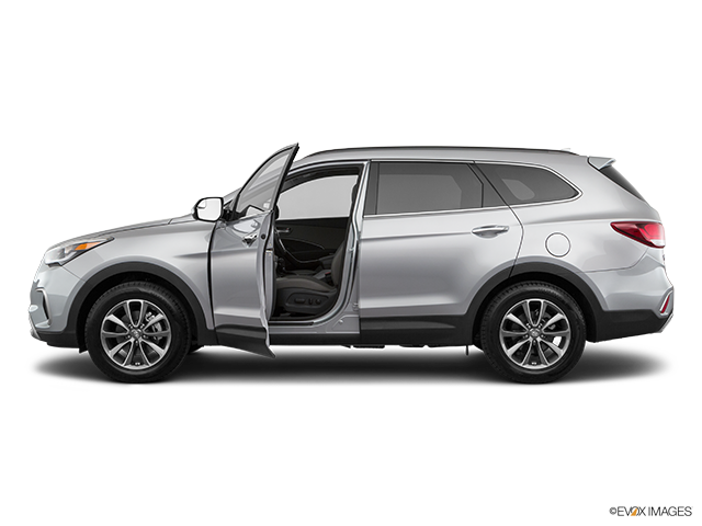 2019 Hyundai Santa Fe XL Driver's side profile with drivers side door open
