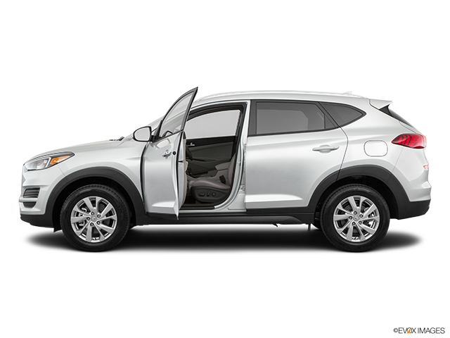 2019 Hyundai Tucson Driver's side profile with drivers side door open