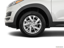 2019 Hyundai Tucson Front Drivers side wheel at profile