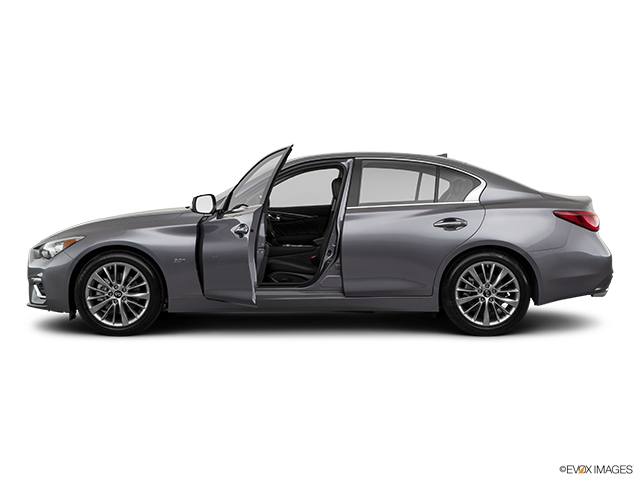 2019 INFINITI Q50 Driver's side profile with drivers side door open