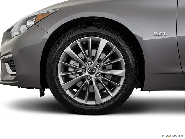 2019 INFINITI Q50 Front Drivers side wheel at profile