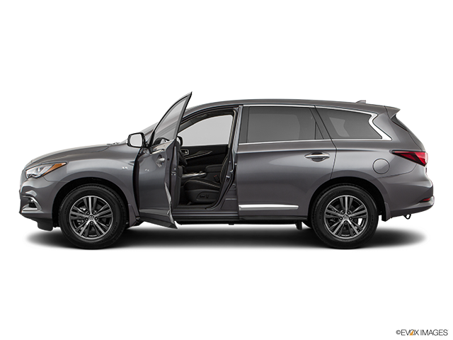 2019 INFINITI QX60 Driver's side profile with drivers side door open