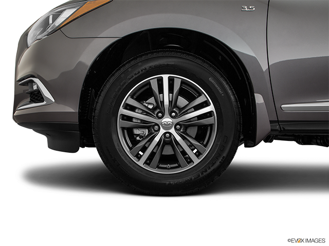 2019 INFINITI QX60 Front Drivers side wheel at profile