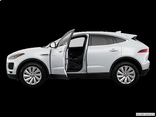 2019 Jaguar E-PACE Driver's side profile with drivers side door open