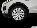 2019 Jaguar E-PACE Front Drivers side wheel at profile