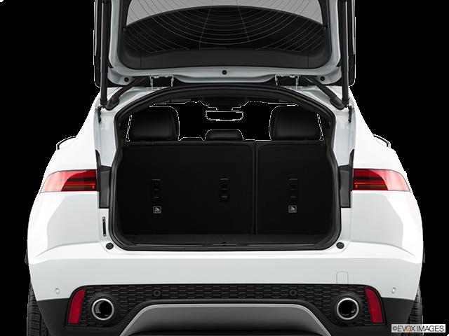 2019 Jaguar E-PACE Trunk open