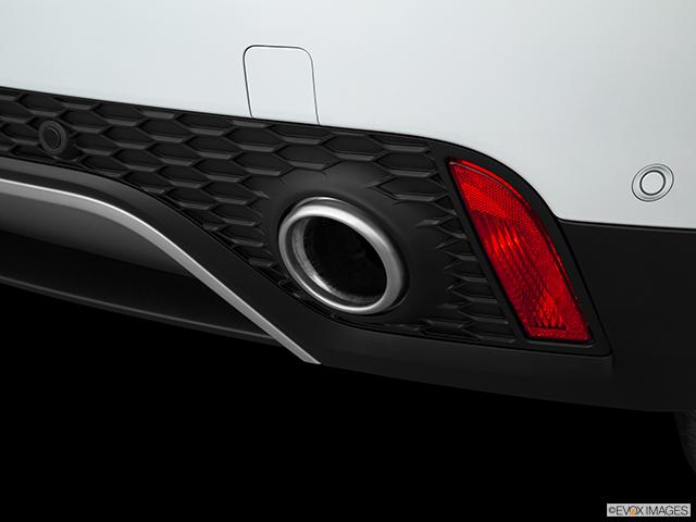 2019 Jaguar E-PACE Chrome tip exhaust pipe