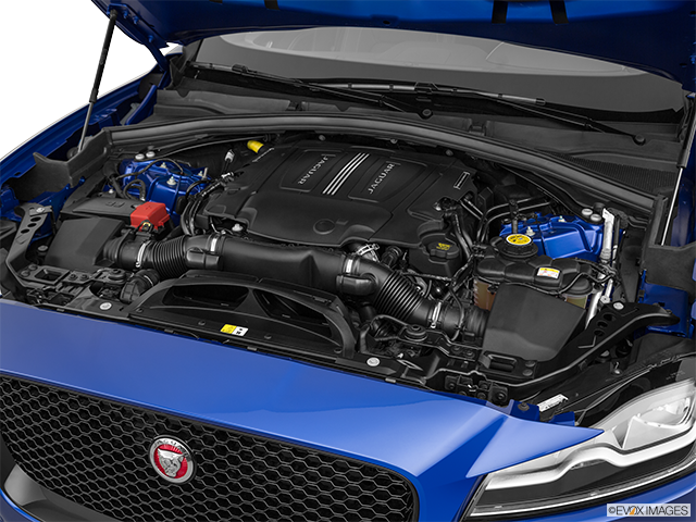 2019 Jaguar F-PACE Engine