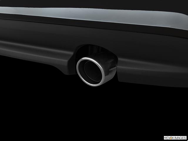 2019 Jaguar XF Chrome tip exhaust pipe