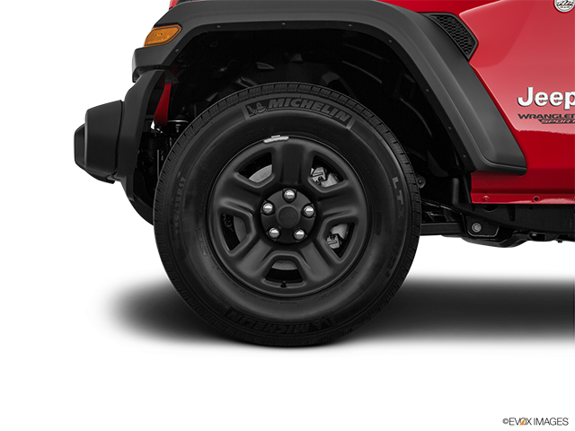 2019 Jeep Wrangler Front Drivers side wheel at profile