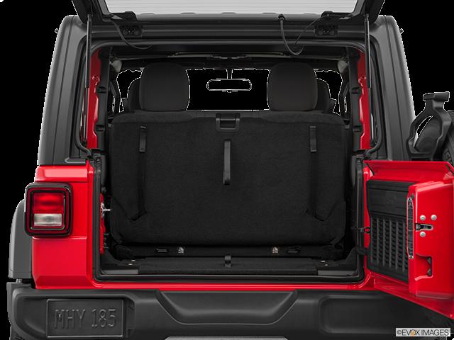 2019 Jeep Wrangler Trunk open