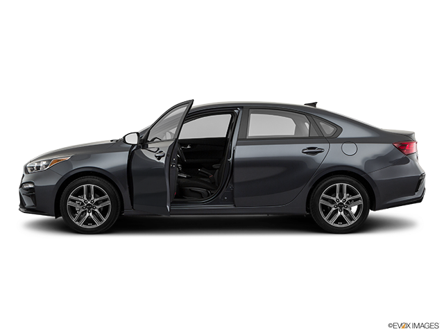 2019 Kia Forte Driver's side profile with drivers side door open